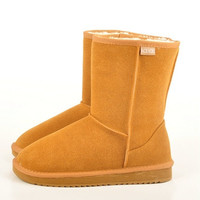 New HOT  Classic Tall Style UG Men and Women Winter Warm Brand  Leather Snow Boots = 1931940804