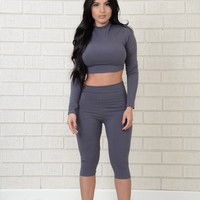 Bon Voyage Top - Grey