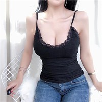 Simple Style Sexy Top