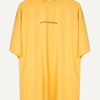 Impulse Overspend Yellow Oversized Tee