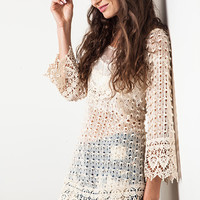 The Charice Lace Tunic
