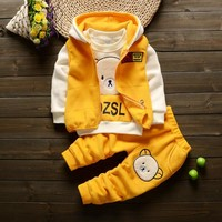 spring baby clothing set for newbornws baby boys girls tracksuit outfits babies clothes sets outerwear t-shirts pant sports suit