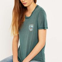 Truly Madly Deeply Camp Badge T-shirt - Urban Outfitters