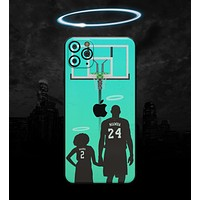 MAMBA // Mint - Non-Profit Memorial Skin-Kit compatible with the Apple iPhone 12, 12 Pro Max, 12 Mini, 11 Pro or 11 Pro Max (All iPhones Available) (All iPhone versions available)