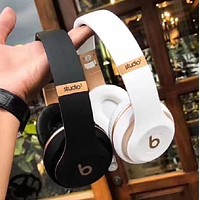 Fashion Beats Solo 3 Wireless Magic Sound Bluetooth Wireless Hands Headset MP3 Music Headphone with Microphone Line-in Socket TF Card Slot