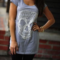 Living On The Edge Shirt: Heather Gray | Hope's