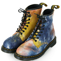 DM Tye Dye Lace Up Boots - View All - Shoes - Topshop USA