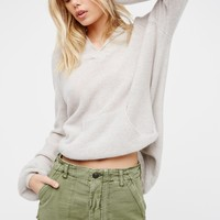 Free People Raw & Patched Standoff Short