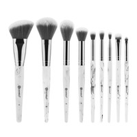 White Marble Makeup Brush Set | BH Cosmetics
