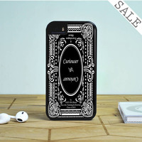 Alice In Wonderland Curiouser Curiouser iPhone 5S Case