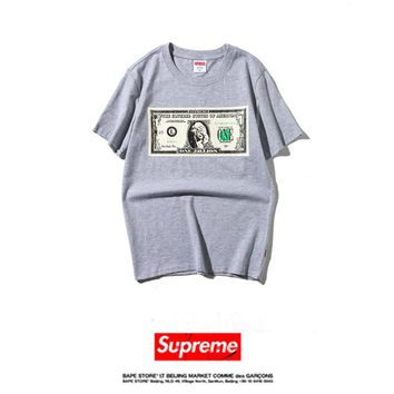 Cheap Women's and men's supreme t shirt for sale 85902898_0013