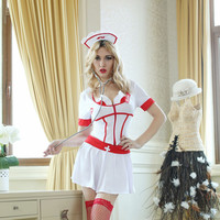 Sexy Hot Deal On Sale Cute Classics Games Uniform Set Cosplay Costume Exotic Lingerie [6580729607]