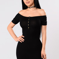 My Curvy Dress - Black
