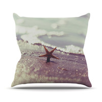 """Libertad Leal """"You are a Star"""" Outdoor Throw Pillow"""