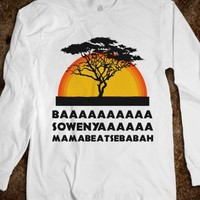 Lion King (long sleeve) - Fun, Funny, & Popular