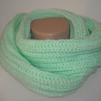 scarf, Knit scarf,Knitted mint scarf,Made to order scarves, Knit made to order, Knitted scarves.knit scarves,scarf,scarves