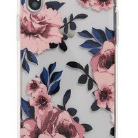 kate spade new york crystal prairie rose iPhone X case | Nordstrom