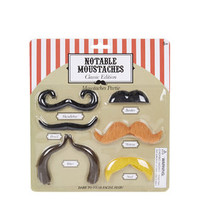 Novelty Classic Moustaches Pack - Multi