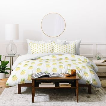 Wonder Forest Pineapple Express Duvet Cover