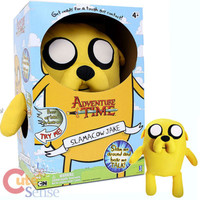 "Adventure Time 22"" Slamacows Jake with Sound Plush Doll"