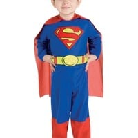 Superman Toddler Costume From Creative Kidstuff Educational Toys, Books and Games at Creative Kidstuff