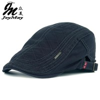 New Cotton Berets Cap For Men / Casual Peaked Caps