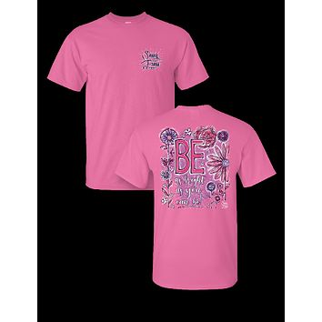Sassy Frass Be as Bright as You Can Be Comfort Colors Girlie T-Shirt