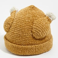 Knit Turkey Hat