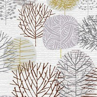Art / I Love Winter Trees limited edition giclee print by EloiseRenouf