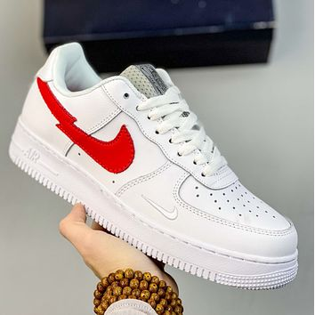 """Nike Air Force 1""""Euro Tour""""Lightning hook low top board shoes"""