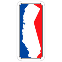 California Logo Red and Blue