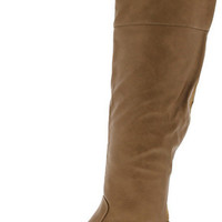 SOHO21 CAMEL KNEE HIGH RIDING BOOT