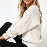 LA Hearts V-Neck Blouson Sleeve Sweater at PacSun.com