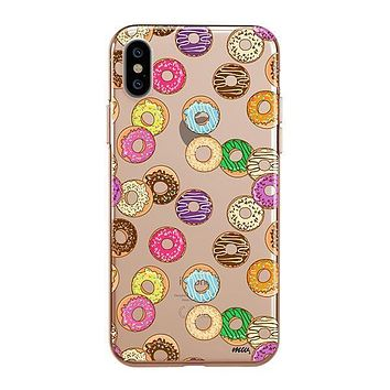 Donut Pandemonium - iPhone Clear Case