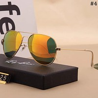 RayBan Tide brand driving driver personality color film polarized sunglasses #4