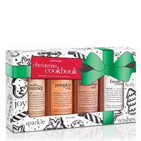 christmas cookbook   holiday set   philosophy our favorite holiday gifts