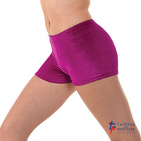 Tappers and Pointers Children's Smooth Velvet Hipster Micro Shorts