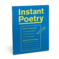 Instant Poetry Journal | Gift Book | Funny Multiple Choice and Fill-In Options to Instantly Create Hilarious Poetry
