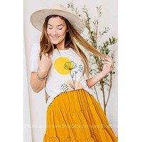 Simply Bloom Graphic Tee