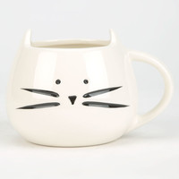 Ankit Cat Mug White One Size For Women 26050215001