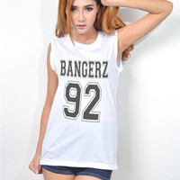 Miley Cyrus Bangerz Sleeveless T Shirt