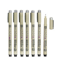 7 pcs/Lot Sakura Pigma Micron needle for drawing sketch cartoon archival ink gel pen Stationery Animation Art supplies 6922