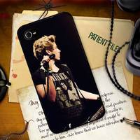 Luke Hemmings 5 SOS Five Seconds of Summer inspired Hard Case Cover Apple iPhone 4 4s 5 5s 5c And Samsung Galaxy S3 S4
