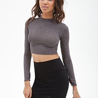 FOREVER 21 Bodycon Knit Mini Skirt