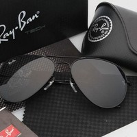 Tagre™ Ray Ban Aviator Sunglass Black Mirrored RB 3025