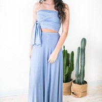 Monaco Maxi Skirt with Slit