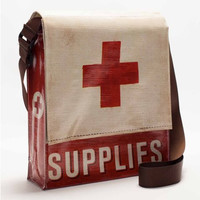 Medical Supplies Messenger Bag withYour Choice of Pencil Case