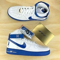 Nike Air Force 1 AF1 High Top Flat Sneakers Basketball Shoes