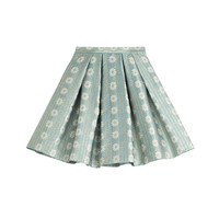 RED Valentino - Flared Jacquard Skirt