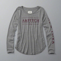Womens Graphic Long-Sleeve Tee | Womens New Arrivals | Abercrombie.com